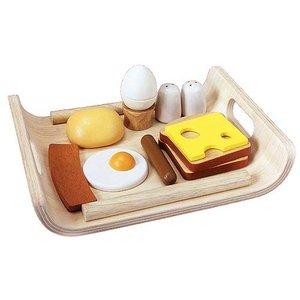Plan Toys Plan Toys Houten ontbijtset