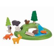 Plan Toys Plan Toys Houten Dieren set
