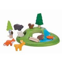 Plan Toys Houten Dieren set