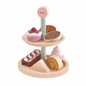 Plan Toys Plan Toys Houten Cupcakes en Taartjes