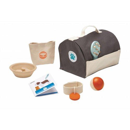Plan Toys Plan Toys Dieren Verzorging Set