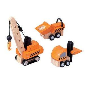 Plan Toys Plan Toys Bouwwagens