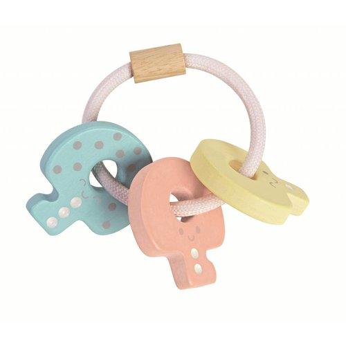 Plan Toys Plan Toys Baby Houten Sleutelbos