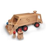 Fagus Houten Speelgoed Fagus Vuilniswagen