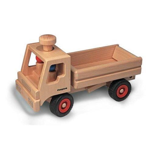 Fagus Houten Speelgoed Fagus Vrachtwagen met laadbak