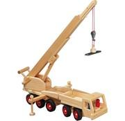 Fagus Houten Speelgoed Fagus Kraanwagen