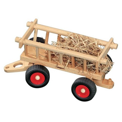 Fagus Houten Speelgoed Fagus Hooiwagen