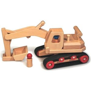 Fagus Houten Speelgoed Fagus Graafmachine
