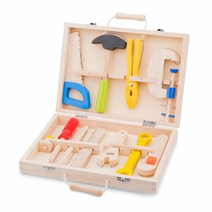 New Classic Toys New Classic Toys Houten gereedschapskoffer