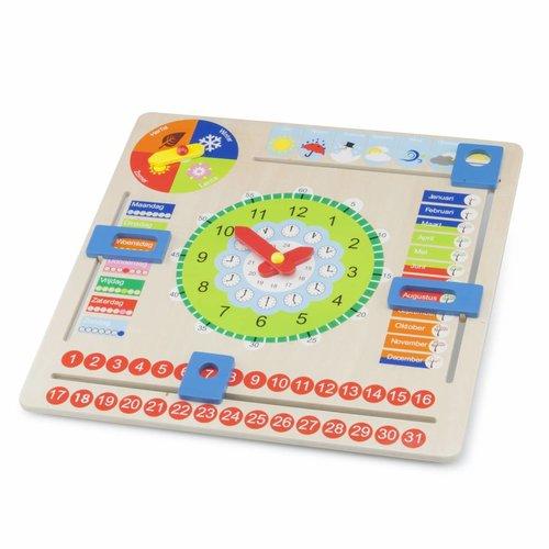 New Classic Toys New Classic Toys Kalenderklok