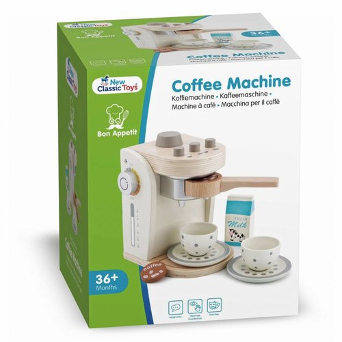 New Classic Toys New Classic Toys Houten Koffiemachine