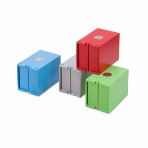 New Classic Toys New Classic Toys Set van 4 zeecontainers