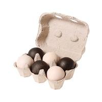 Grimms 6 houten ballen monochroom