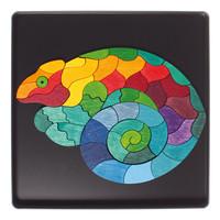 Grimms Magneetpuzzel Kameleon