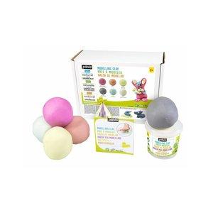 Pébéo Natuurlijke Klei Pebeo Set XXL Pastel kleuren