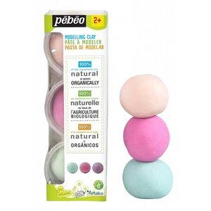 Pébéo Natuurlijke Klei Pebeo Arteko Natuurlijke Klei Set Marshmallow