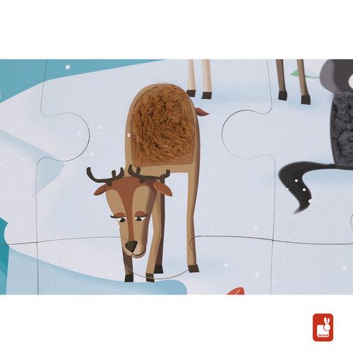 Janod Janod Voelpuzzel dierenvachten