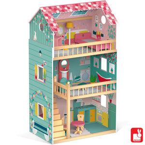 Janod Janod Mega (Barbie!) Poppenhuis
