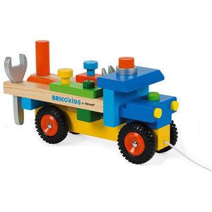 Janod Janod Houten vrachtwagen voor de klusser
