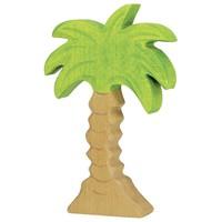 Holztiger Palmboom klein