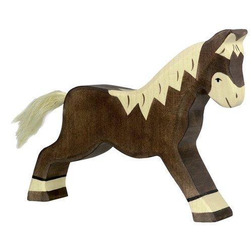 Holztiger Holztiger Paard Rennend