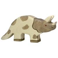 Holztiger Dino Triceratops