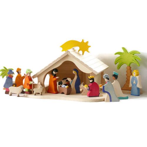 Holztiger Holztiger Complete Kerststal
