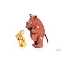 Gruffalo Houten figuren Gruffalo en Muis