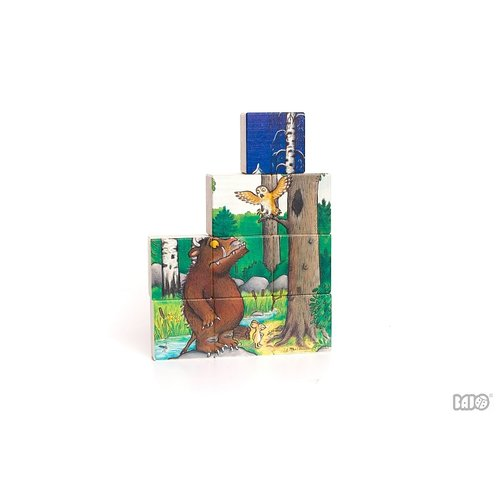 Bajo Houten Speelgoed Gruffalo 9-Delige houten puzzel