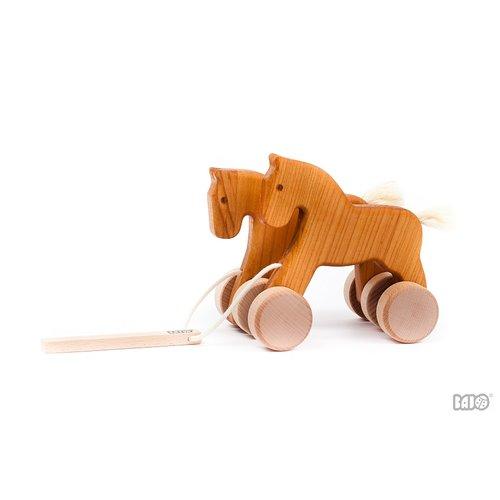 Bajo Houten Speelgoed Bajo Wiebel trekpaarden
