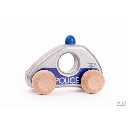 Bajo Houten Speelgoed Bajo Politie auto