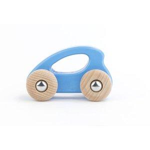 Bajo Houten Speelgoed Bajo Eco car Blauw