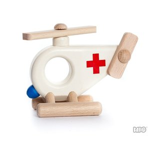 Bajo Houten Speelgoed Bajo Ambulance Helikopter