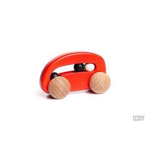 Bajo Houten Speelgoed Bajo Auto met kralen
