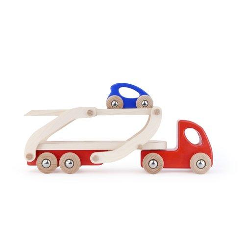 Bajo Houten Speelgoed Bajo Autotransporter