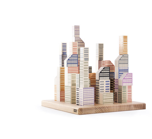 Bajo Houten Speelgoed Manhattan Blokken