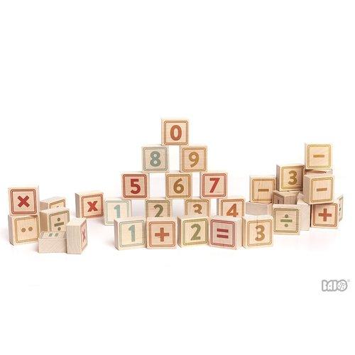 Bajo Houten Speelgoed Bajo Nummers