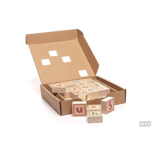 Bajo Houten Speelgoed Bajo Nummers Leer tellen en rekenen
