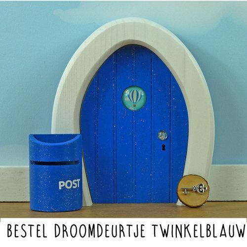 Droomdeurtjes Droomdeurtje Twinkelblauw