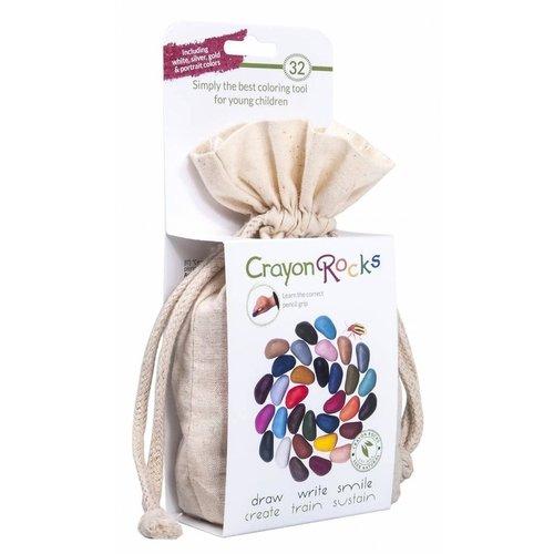Crayon Rocks Crayon Rocks 32 stuks in katoenen zakje