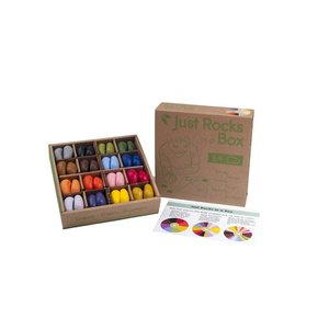 Crayon Rocks Crayon Rocks Groot 64 stuks in doos