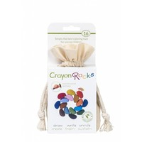 Crayon Rocks 16 stuks in katoenen zakje