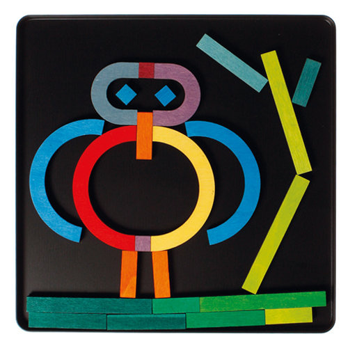Grimms Grimms Magneetpuzzel Alfabet