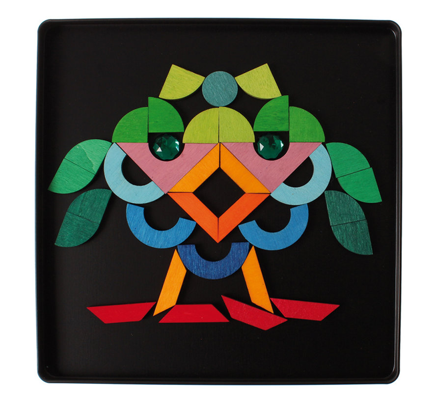 Grimms Magneetpuzzel Basisvormen
