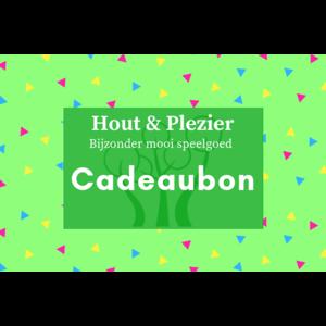 Hout & Plezier Cadeaubon