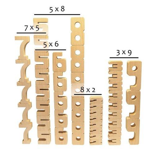 Sumblox Sumblox Houten Bouwcijfers