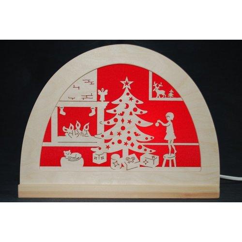 De Noest De Noest Silhouet Kerstfeest