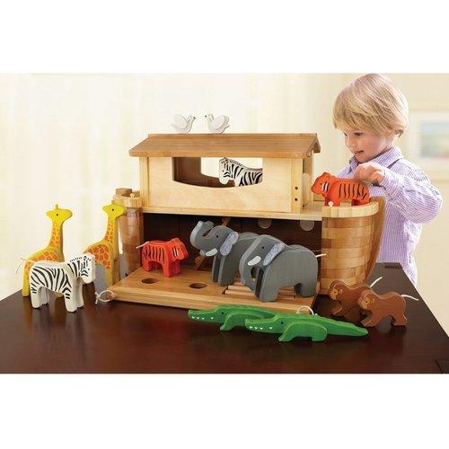 EverEarth EverEarth Ark van Noach met houten dieren