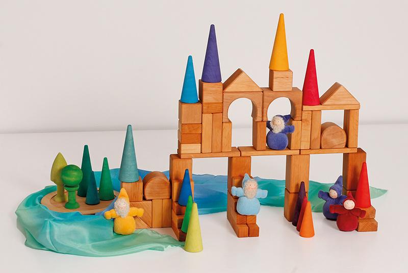 Groot speelgoed dat tegen een stootje kan Hout en Plezier