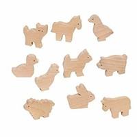 Goki houten boerderijdieren